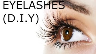 How To Grow Long Eyelashes And Thick Eyebrows Fast Diy