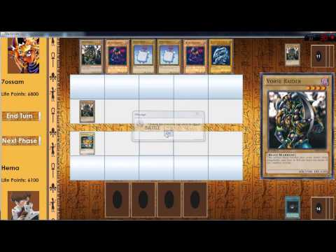 YU Gi Oh Game Java Project