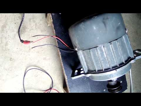 Single Phase Motor Winding Testing