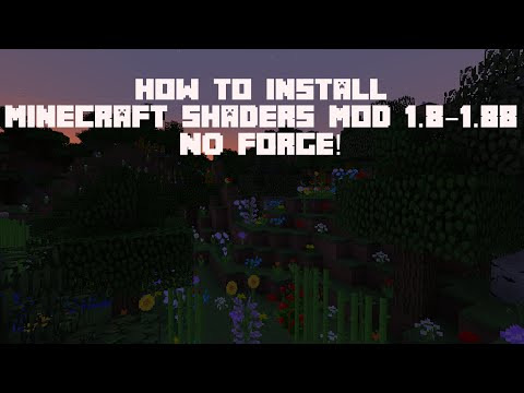 How to Install Shaders Mod 1.8/1.9 (Windows/Mac) No Forge