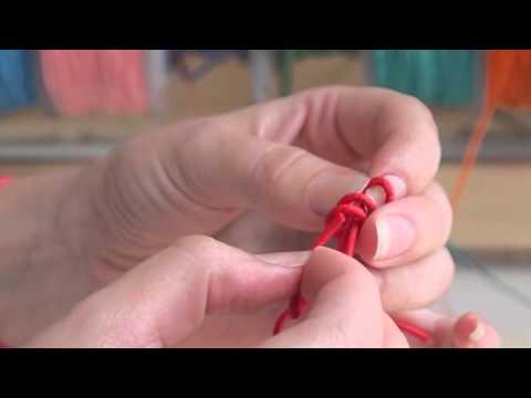 How to make sliding knots - by Merci Maman