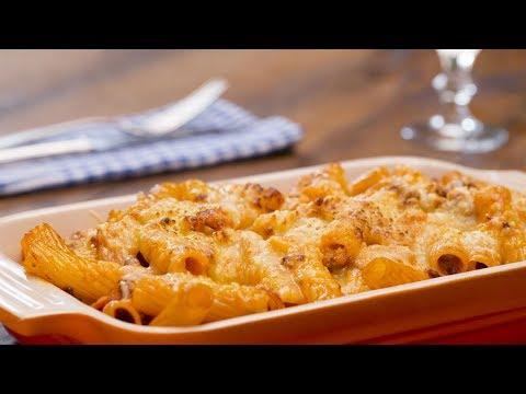Rigatoni al forno: Pasta geht doch immer :D