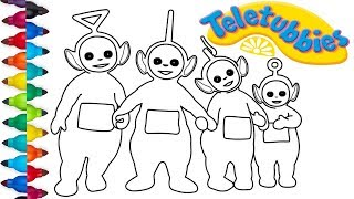 Teletubbies Coloring Pages | Coloring book |  Drawing and Coloring Teletubbies