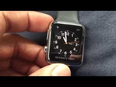 How-To Change The Apple Watch Face Using Force Touch