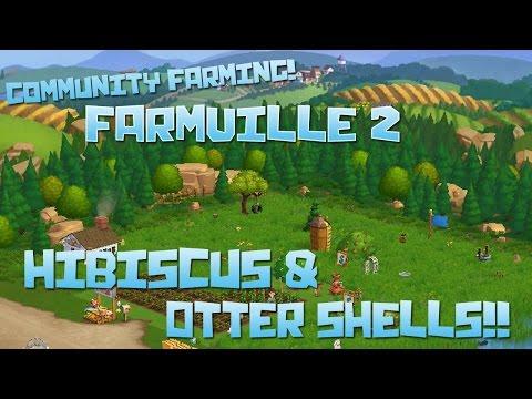 Farmville 2! Hibiscus & Otter Shells!! - Episode #49