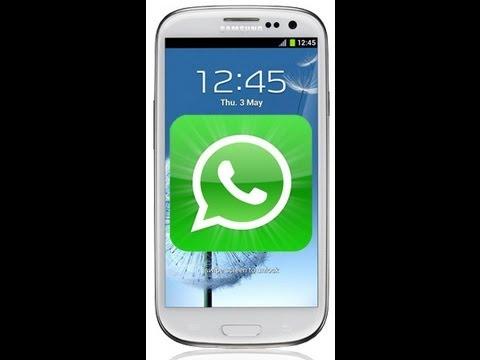 Whatsapp Profilbild Foto Picture einfügen / ändern Kontaktbilder 2013