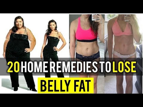 20 Amazing Home Remedies to Lose Belly Fat