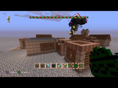 Minecraft PS3/PS4 - Wither Spawning