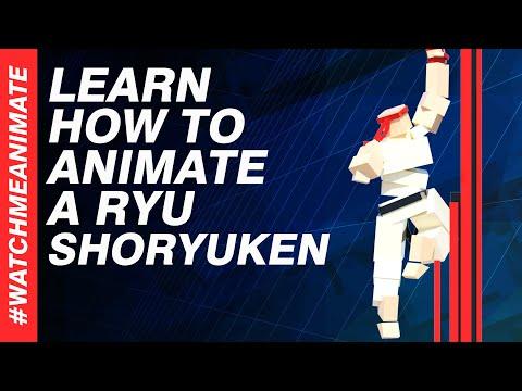 How to Animate a Ryu Shoryuken from SFV - EP03