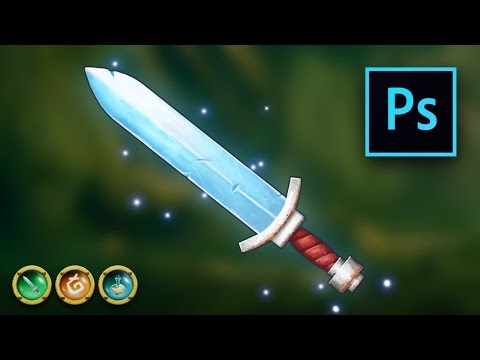 Learn Professional 2D Game Graphic Asset Design in Photoshop