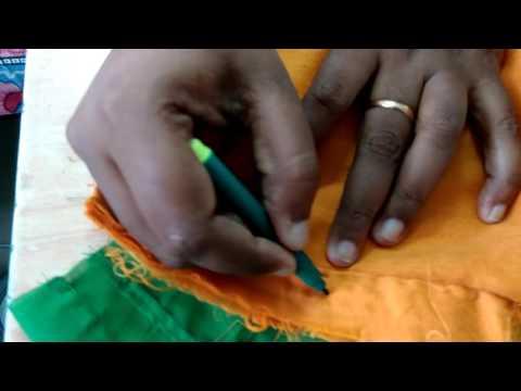 Saree Blouse  stitching Final Part