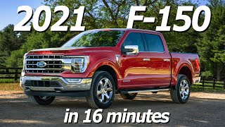 2021 Ford F-150 Unveiling in 16 minutes
