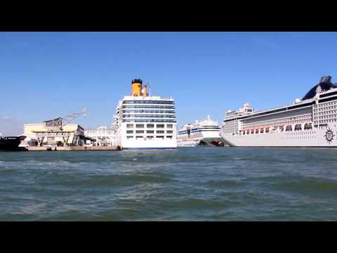 Cruise ships at Venice Port