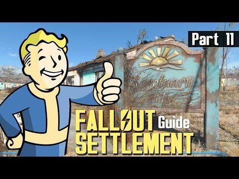 Fallout 4 - SETTLEMENT BUILD GUIDE 11 - Choosing Specials & Perks