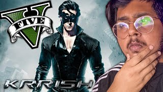 GTA V : I BECOME KRRISH With SUPER POWERS in GRAND THEFT AUTO V | GTA 5 Mods Gameplay