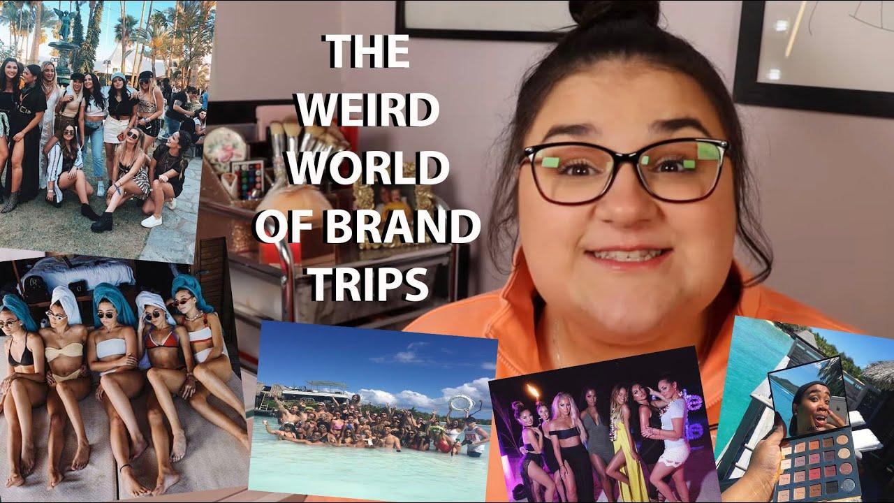 The Bizarre World of Influencer Brand Trips...
