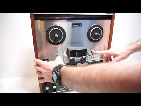 Teac A-2340 4 Channel Simul-Sync Stereo Tape Deck Demo