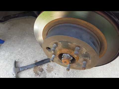 350z Rotors and Pads Install