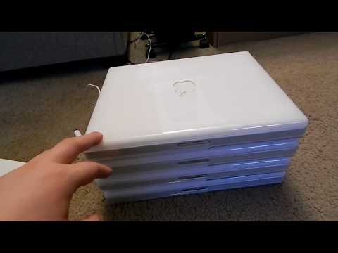 Apple iBook G3 Lot Overview