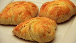 Turkish Puff Pogaca Pastry with Feta Cheese Recipe