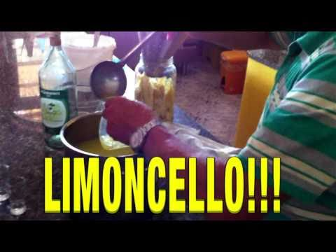 HOW TO MAKE LIMONCELLO -  HOTEL POGGIO DEL SOLE, FORIO,  ISCHIA
