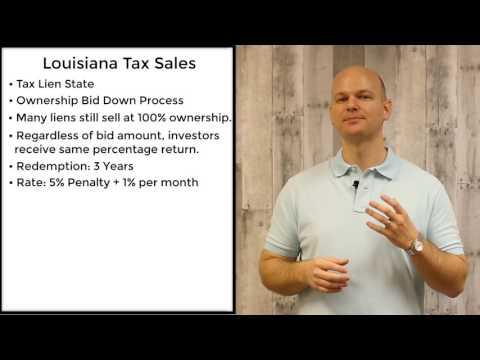 Louisiana Tax Sale - Tax Liens