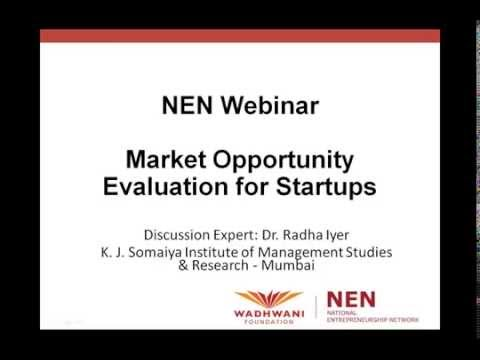 NEN Webinar - Opportunity Evaluation Part 1