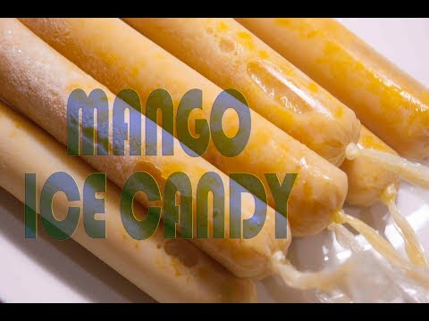 Mango Ice Candy
