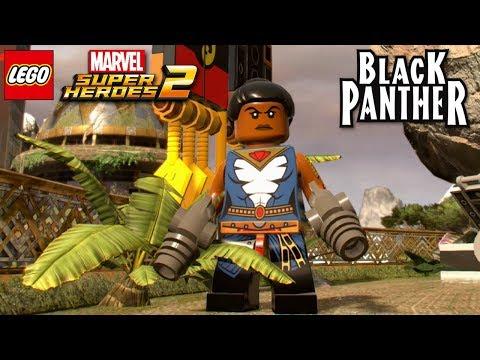 LEGO Marvel Super Heroes 2 - Shuri (Black Panther Movie) Free Roam Gameplay [Custom Character]