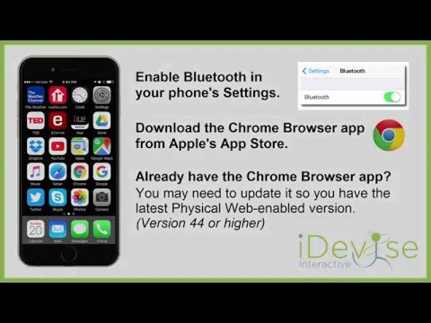 How To Enable The Physical Web for Chrome Browser on iOS / iPhone / iPad