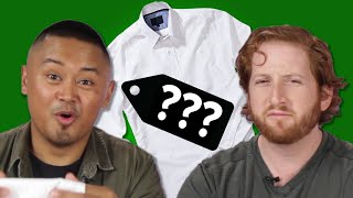 We Guess The Prices Of White Dress Shirts