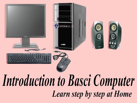 Introduction to basic computer || How to learn computer