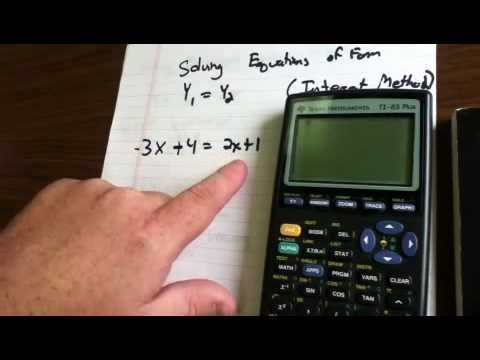 Solving Linear Equations of Form - 6