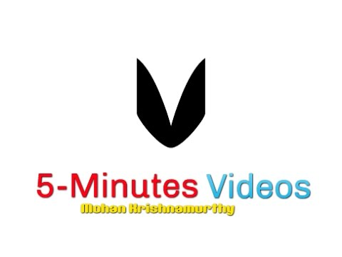 5-Minutes Videos - Publish Your Tamil Books on Google Books
