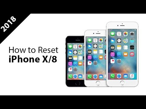 How to Reset iPhone X/8/7/6/5? The Newest Solution 2018