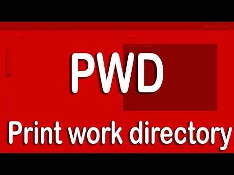Print Working directory in Linux | pwd command
