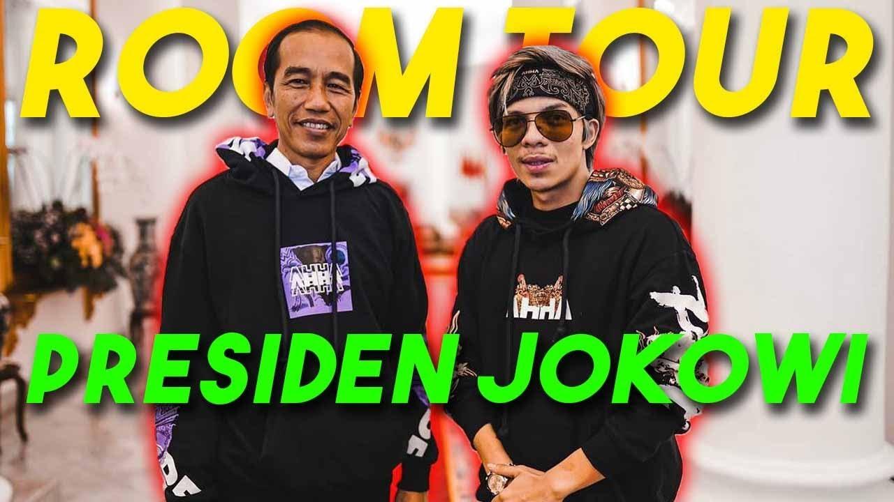 ROOM TOUR PRESIDEN JOKOWI... Pakai AHHA!!!