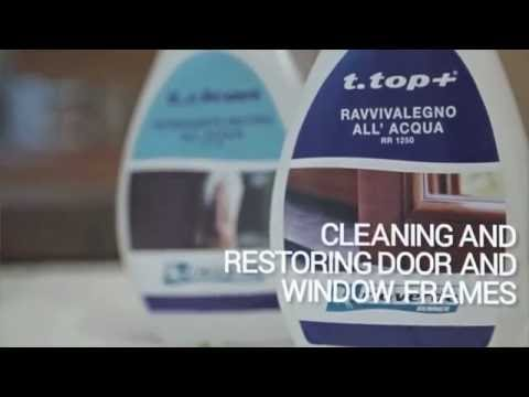 How to clean wooden windows and shutters