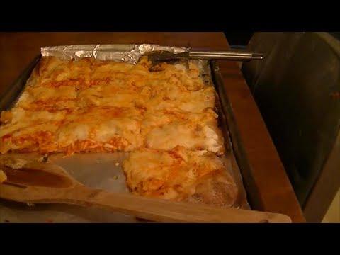 My Recipe for Buffalo Chicken Pizza Just Like Papa John's!!
