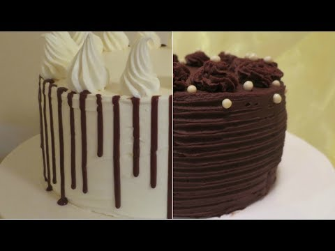 3 Different Chocolate Ganaches for Cakes