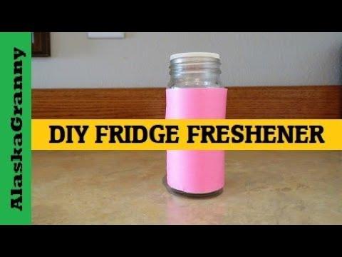 DIY Fridge Freshener Odor Remover