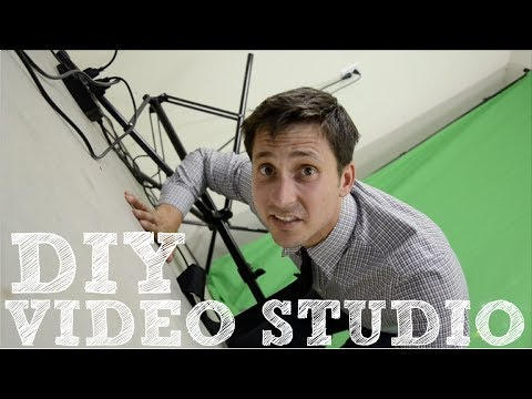 DIY Video Studio - How to Set Up Your Home Film Studio