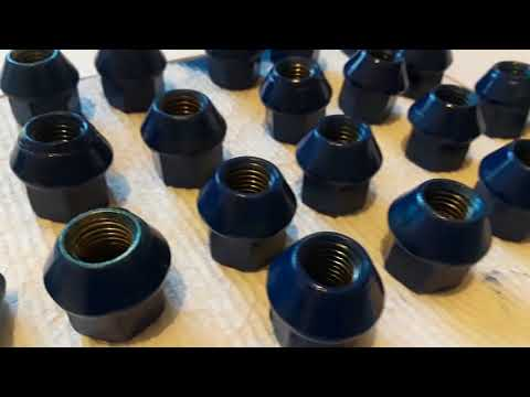 Results of Painted Lug Nuts & Valve Stem Covers