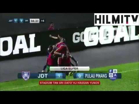 Malaysia Super League | Johor Darul Ta'zim vs Pulau Pinang [1-0]