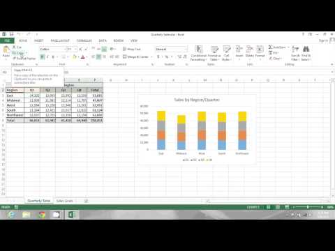How to Flip Column Headings as Row Headings on an Excel Spreadsheet : MIcrosoft Excel Tips
