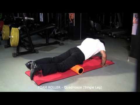 FOAM ROLLER - Quadriceps (Single Leg)
