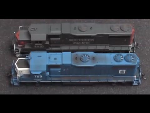 How To Clean HO Scale Train Trucks 5-1-11 Podcast