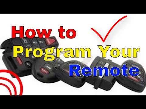 Acura MDX Keyless Entry Remote Fob Smart Key Programming Instructions