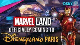 MARVEL Super Hero Universe Coming to Disneyland Paris - Disney News - 2/12/18