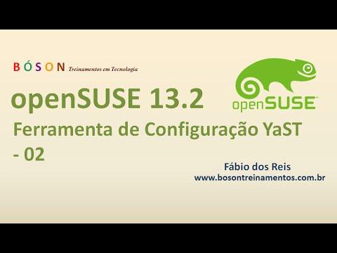 openSUSE 13.2 Linux - Ferramenta de Configuração YaST - 02